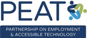 Logo for the Partnership on Employment and Accessible Technology